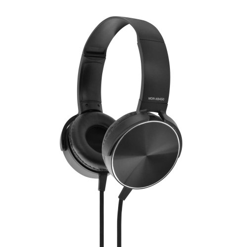 LAMTECH LAM020724 Extra Bass Stereo Headphones With Mic 0017202