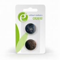 ENERGENIE EG-BA-CR2032-01 Button Cell CR2032 2-Pack 0017200