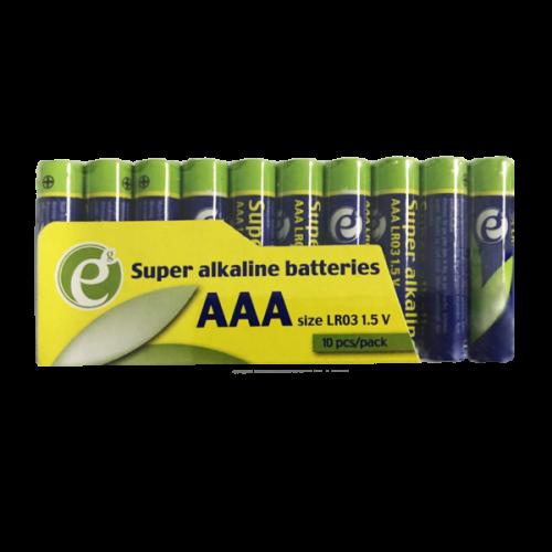 ENERGENIE EG-BA-AAASA-01 Super Alkaline AAA Batterry 10 Pack 0017197