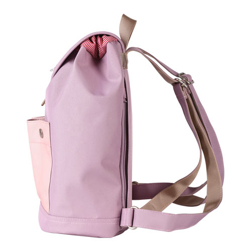 8848 041-029-002 Fashion Lady Backpack For  iPads Violet/Pink 0017287