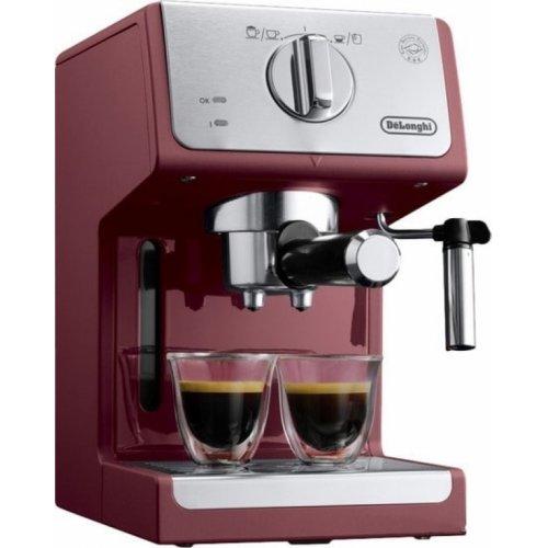 DELONGHI ECP33.21.R Μηχανή Espresso 15 bar - 1100 W Κόκκινη - Αποκλειστικό μοντέλο 0017272