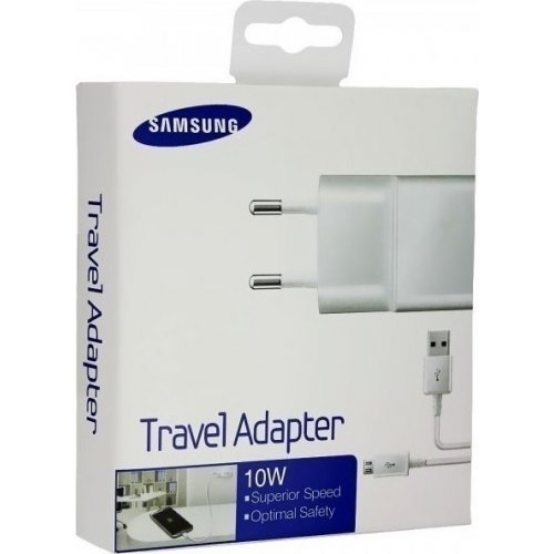 SAMSUNG ETA-U90E 2A Usb Wall Adapter White