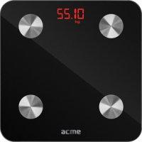 ACME SC101 Ζυγαριά Μπάνιου Smart Scale Μαύρο 0016907