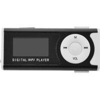 LAMTECH LAM020106 Digital MP3 Player 16GB With FM Radio Black