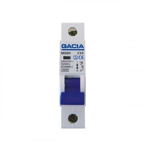 GACIA 500-42026 Αυτοματάκι Μονοπολικό 40A 6KA