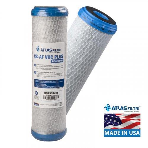 ATLAS FILTRI CB-AF VOC Plus SX 0.5μm Φίλτρο Συμπαγούς Ενεργού Άνθρακα (Made in Usa) (28508)