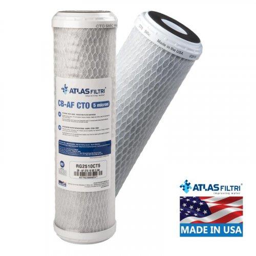 ATLAS FILTRI CB-AF CTO SX 5μm Φίλτρο Συμπαγούς Ενεργού Άνθρακα (Made in Usa)