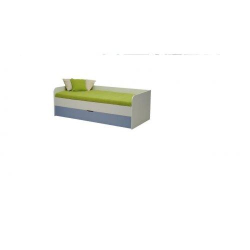 FORMA IDEALE 1121100 Κρεβάτι Παιδικό DSM B90 Λευκό  203χ67,7χ95,2εκ