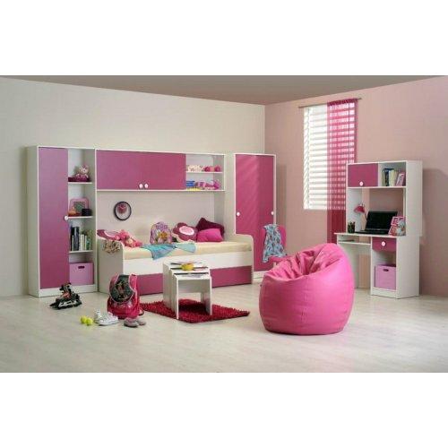 FORMA IDEALE 1121101 Συρτάρι Κρεβάτι Παιδικό Moly B90 Ροζ