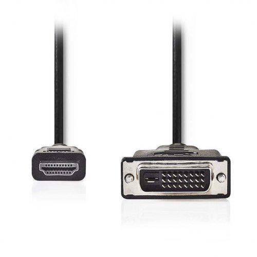 NEDIS CCGP34800BK20 Καλώδιο HDMI αρσ. - DVI-D 24+1-Pin αρσ., 2m