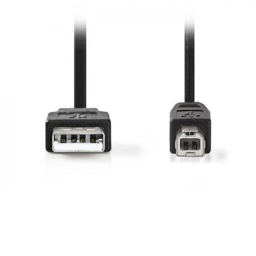 NEDIS CCGT60100BK30 Καλώδιο USB 2.0 A αρσ.- B αρσ., 3m