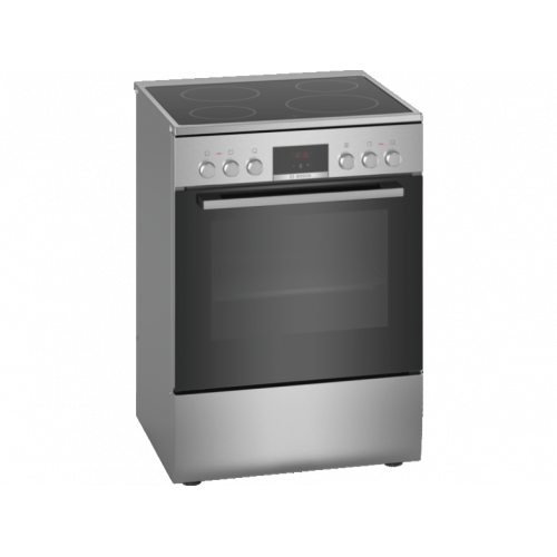 BOSCH HKR390050 Ηλεκτρική Κουζίνα 66lt - Κεραμικές Εστίες - Α - 60cm Inox 0016957