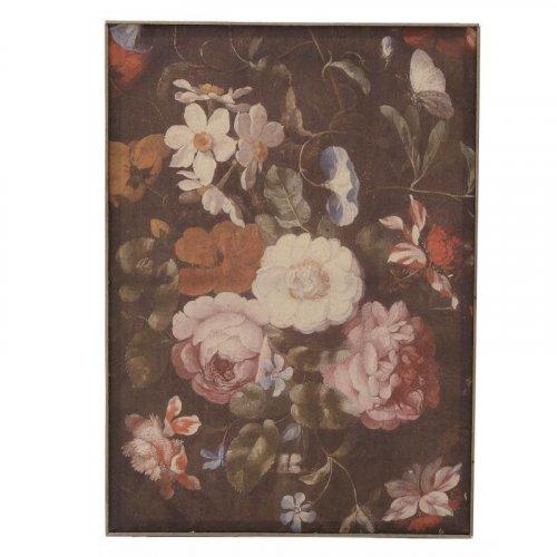 INART 3-90-368-0049 Πίνακας Υφασμάτινος Λουλούδια (2H) 50x4x70εκ.