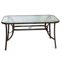 FYLLIANA 327-91-068 Τραπέζι160x90 Steel Καφέ