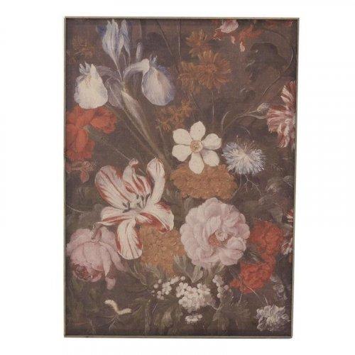 INART 3-90-368-0050 Πίνακας Υφασμάτινος Λουλούδια (2Η) 50χ4χ70εκ.