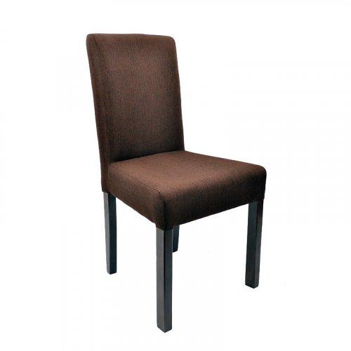 FYLLIANA 839-27-516 Καρέκλα Τραπεζαρίας Τ-11 Sawana Καφέ Ύφασμα