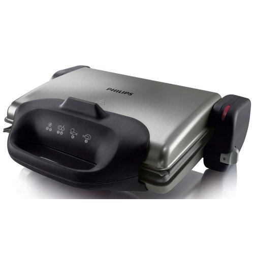 PHILIPS HD4467/90 Tοστιέρα-Ψηστιέρα 2000W 410562