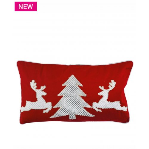 KENTIA Reindeer  Μαξιλάρι Διακοσμητικό Με Γέμισμα 35x60