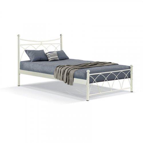 FYLLIANA 827-91-029 Κρεβάτι Σιδερένιο Μπεζ Hermes 150x200